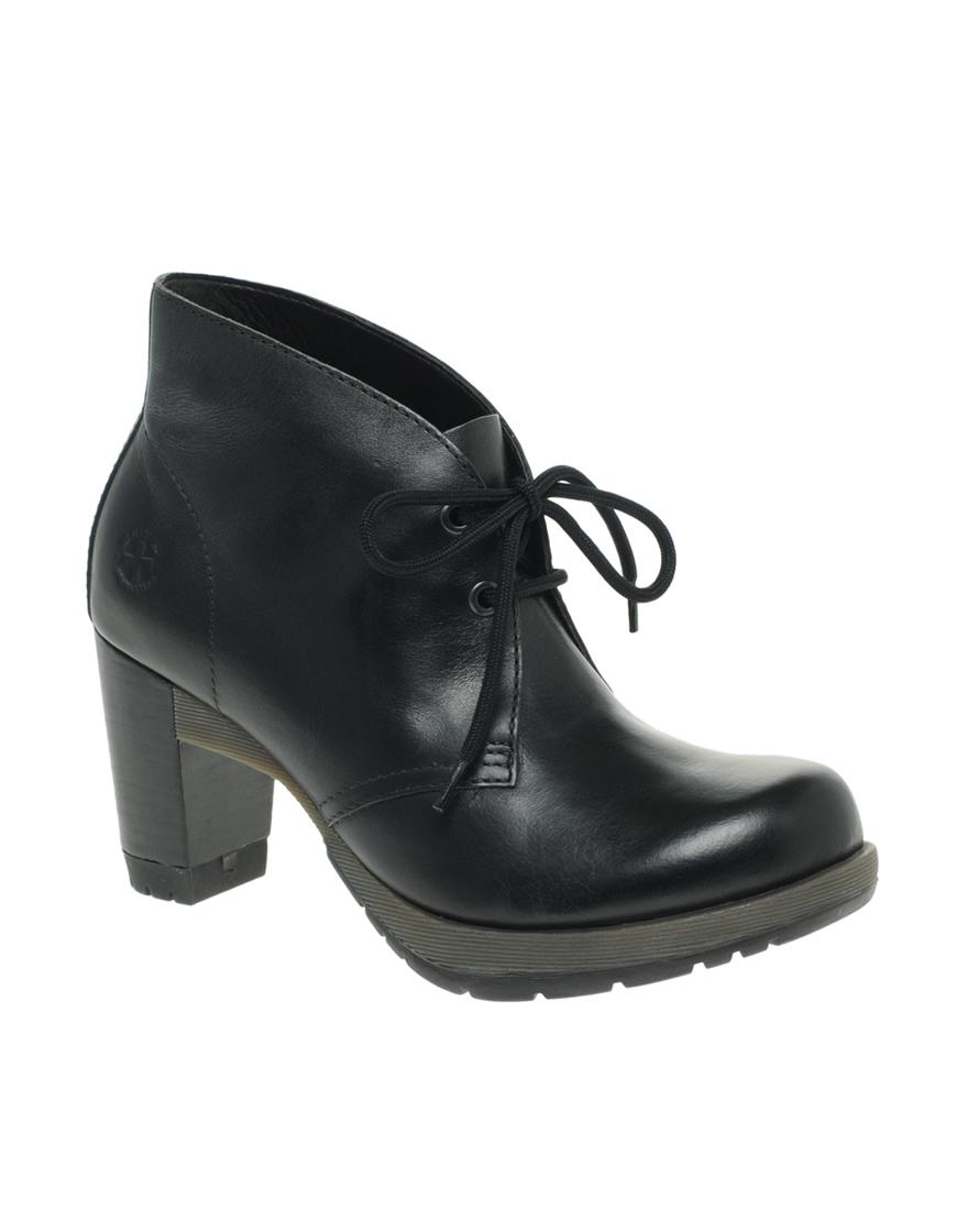 Dr martens dr martens diva viviana desert boots in black lyst - Dr martens diva ...
