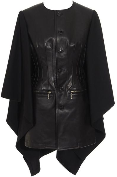 Junya Watanabe Cracked faux leather biker jacket | Lindelepalais.com