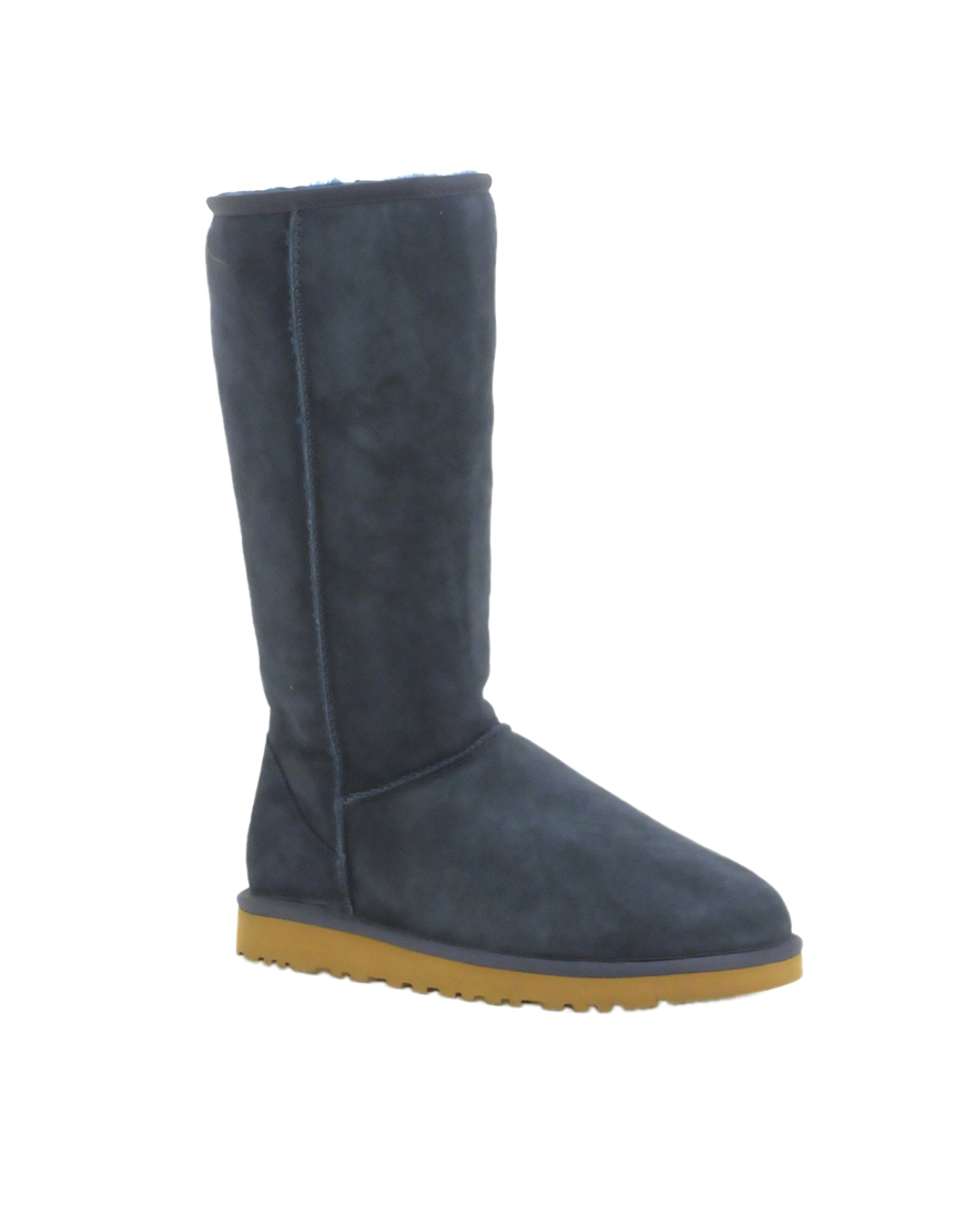 tall blue uggs