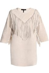 Isabel Marant Navajo Suede Fringe Dress