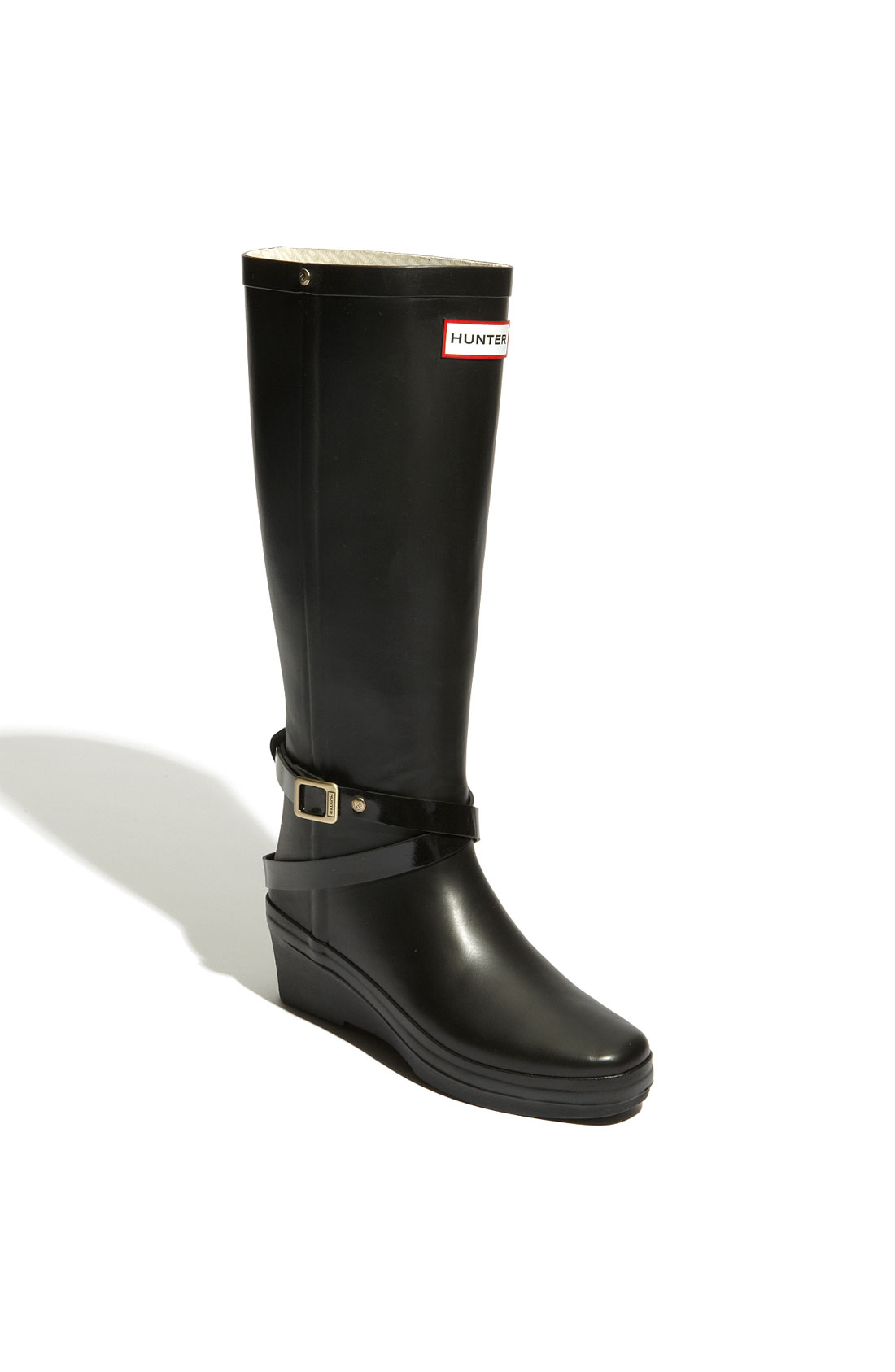 Hunter Andora Rain Boot In Black Lyst