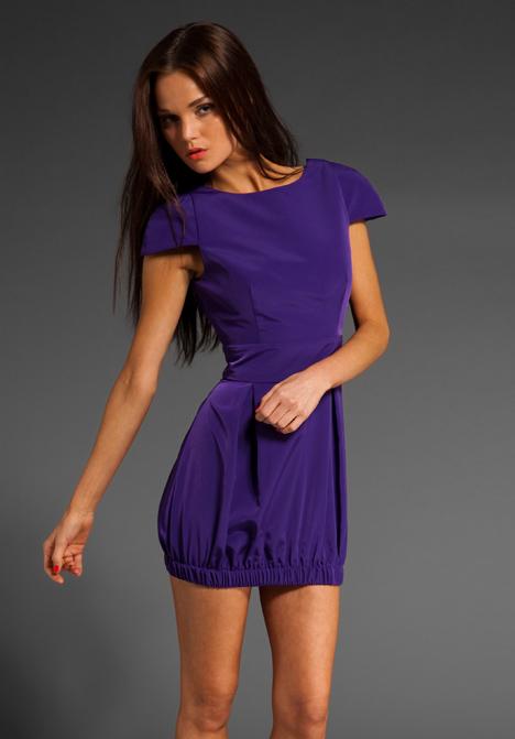 Naven Party Dress in Purple | Lyst