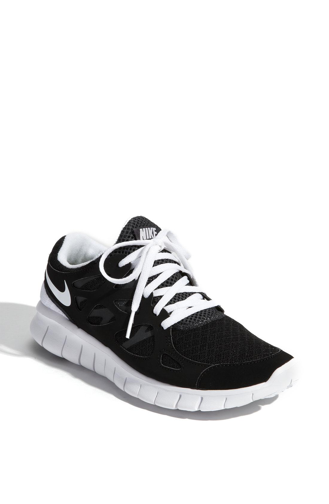 Nike Free Run 2 Black White Anthracite
