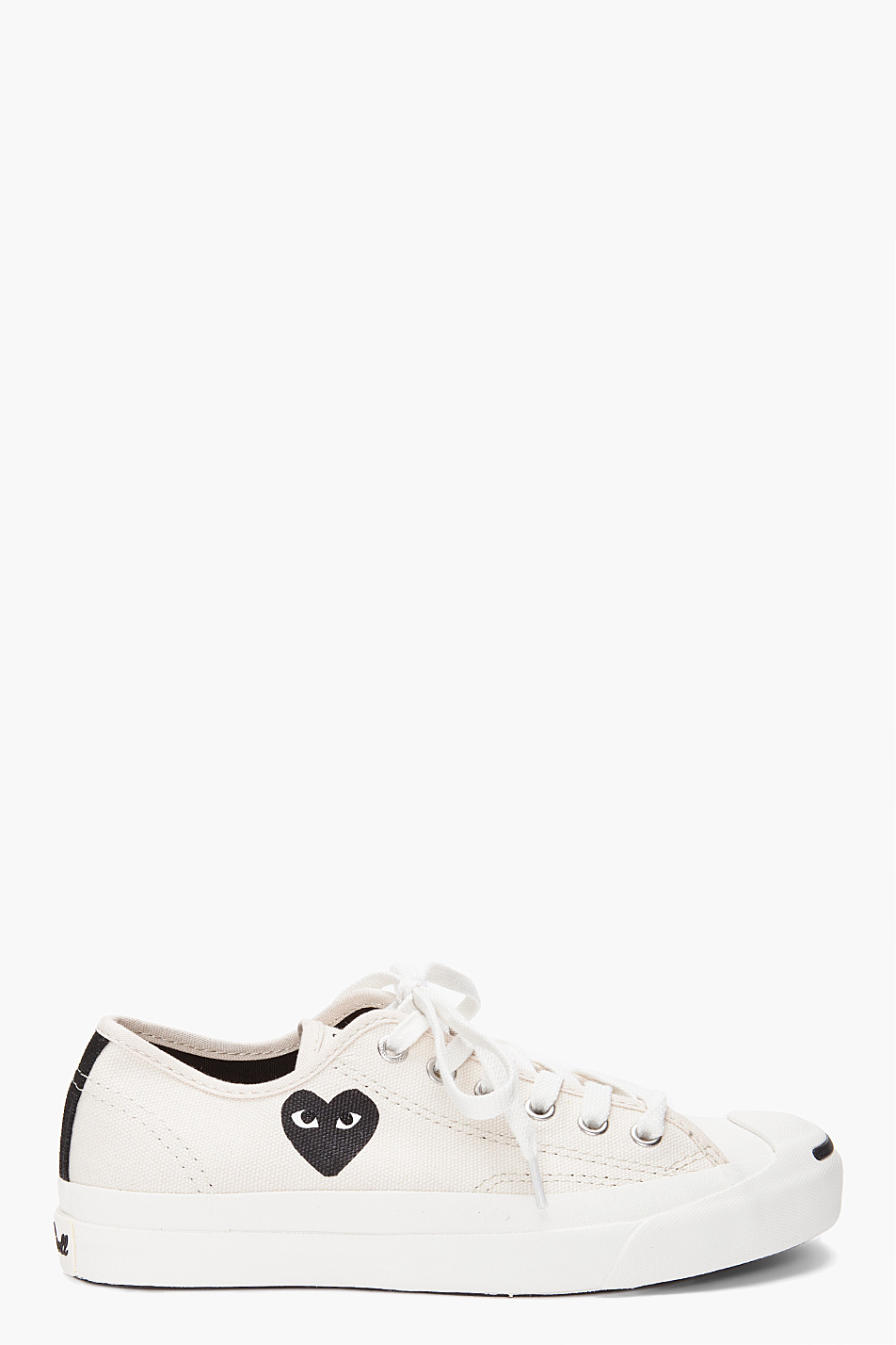 0da6dd1f397c Lyst - Play Comme des Garçons Converse Jack Purcell Sneakers in White