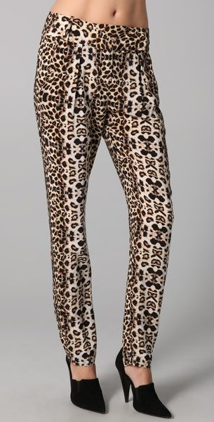 A.l.c. Elson Pant in Animal (leopard)