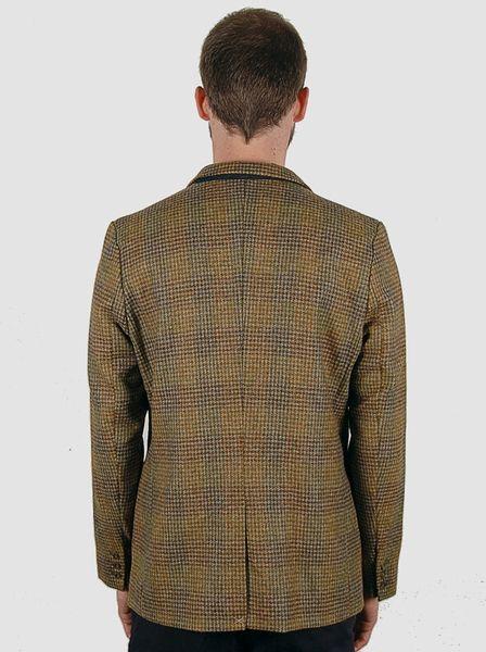 Heritage Research Sports Jacket Scottish Moss Plaid Wool