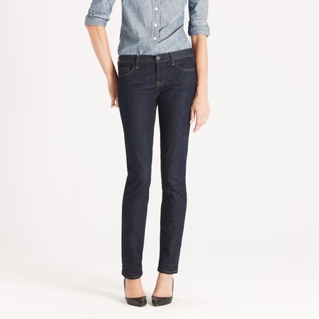 J.crew Matchstick Jean in Classic Rinse Wash in Blue (classic rinse)