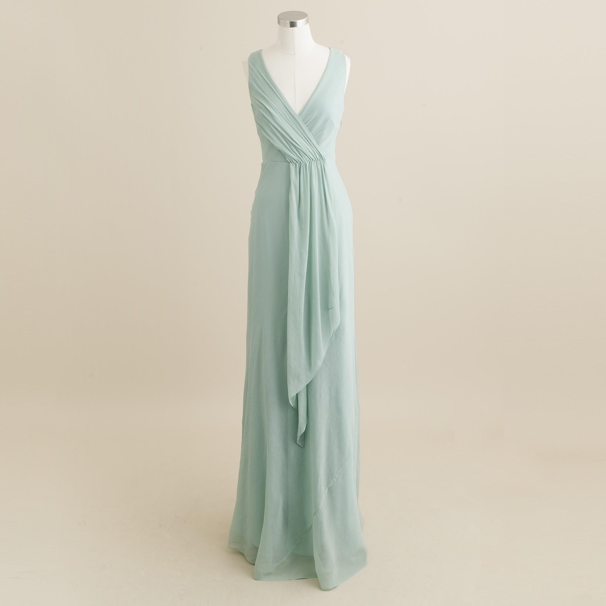 J Crew Bridesmaid Dresses Dusty Shale