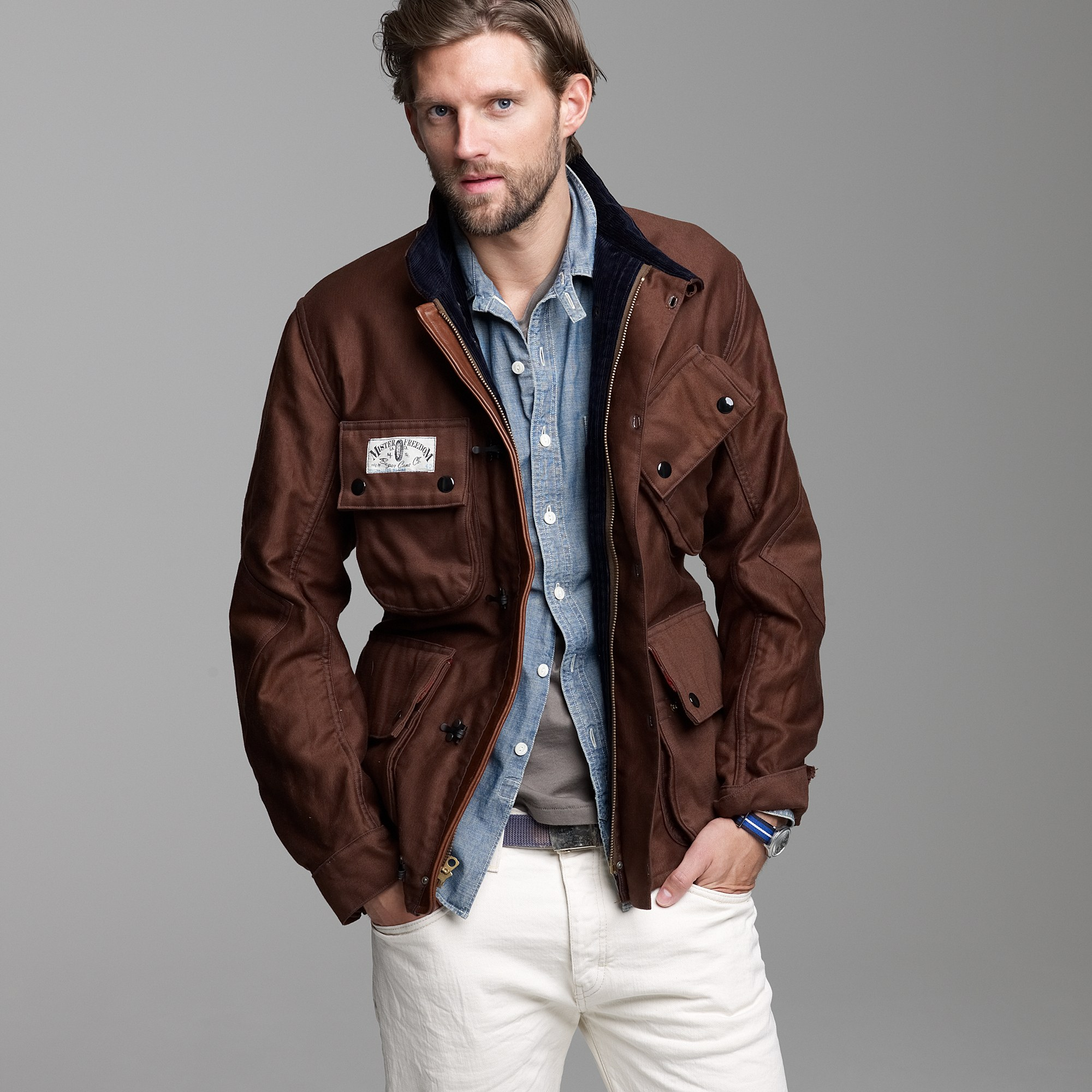2017 Interior Color Trends J Crew Mister Freedom 174 Mulholland Master Jacket In Brown