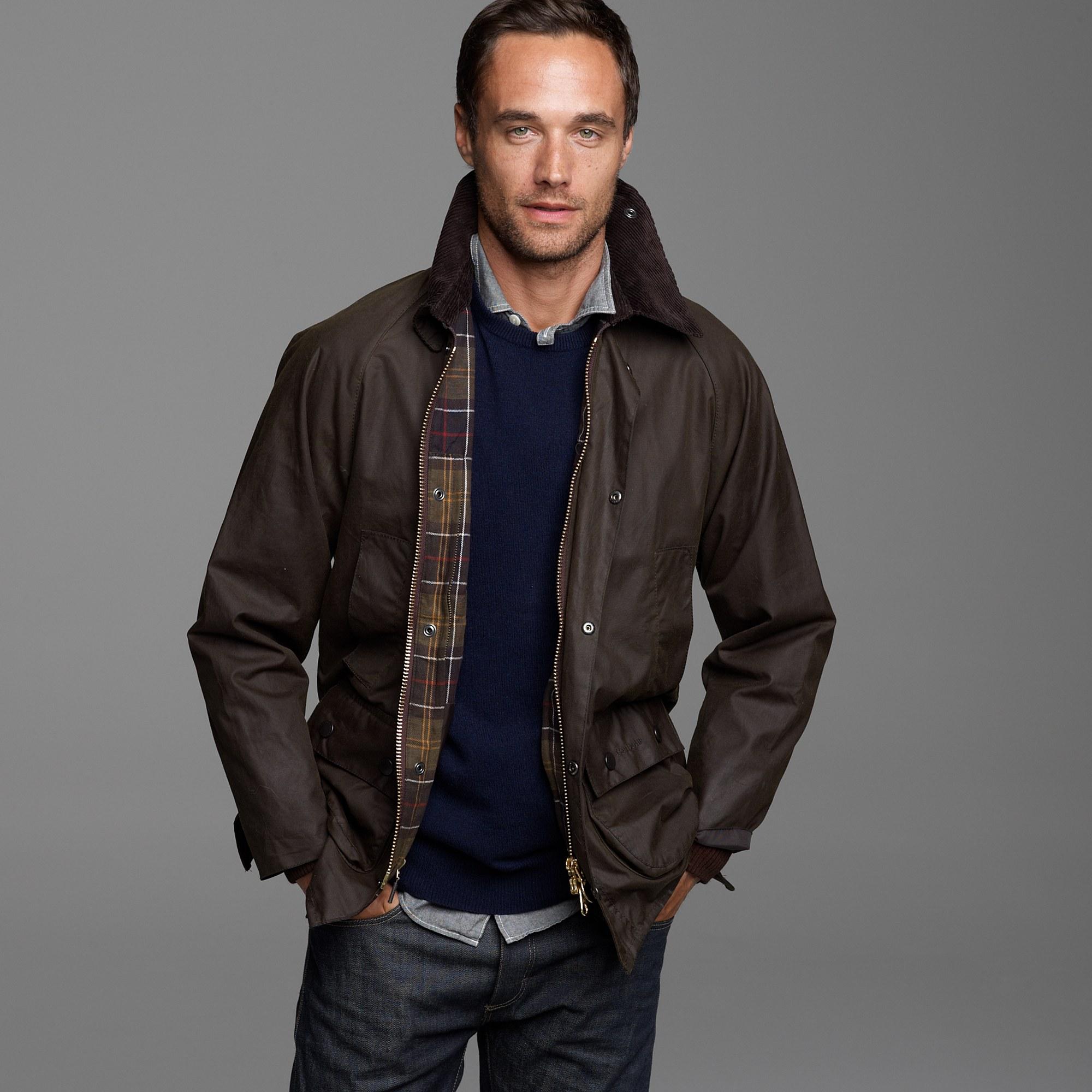 mens barbour ashby jacket
