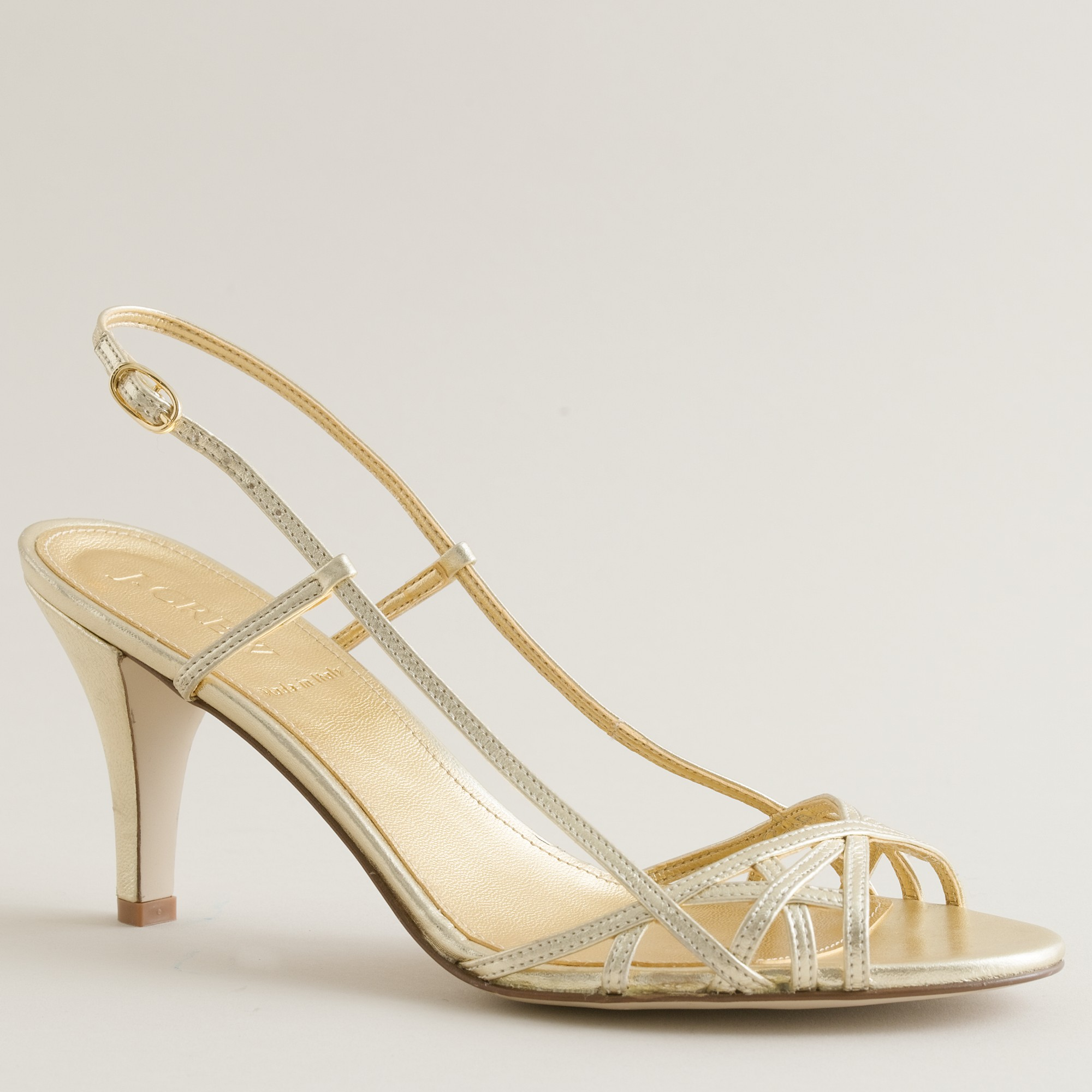 Pale Gold Heels