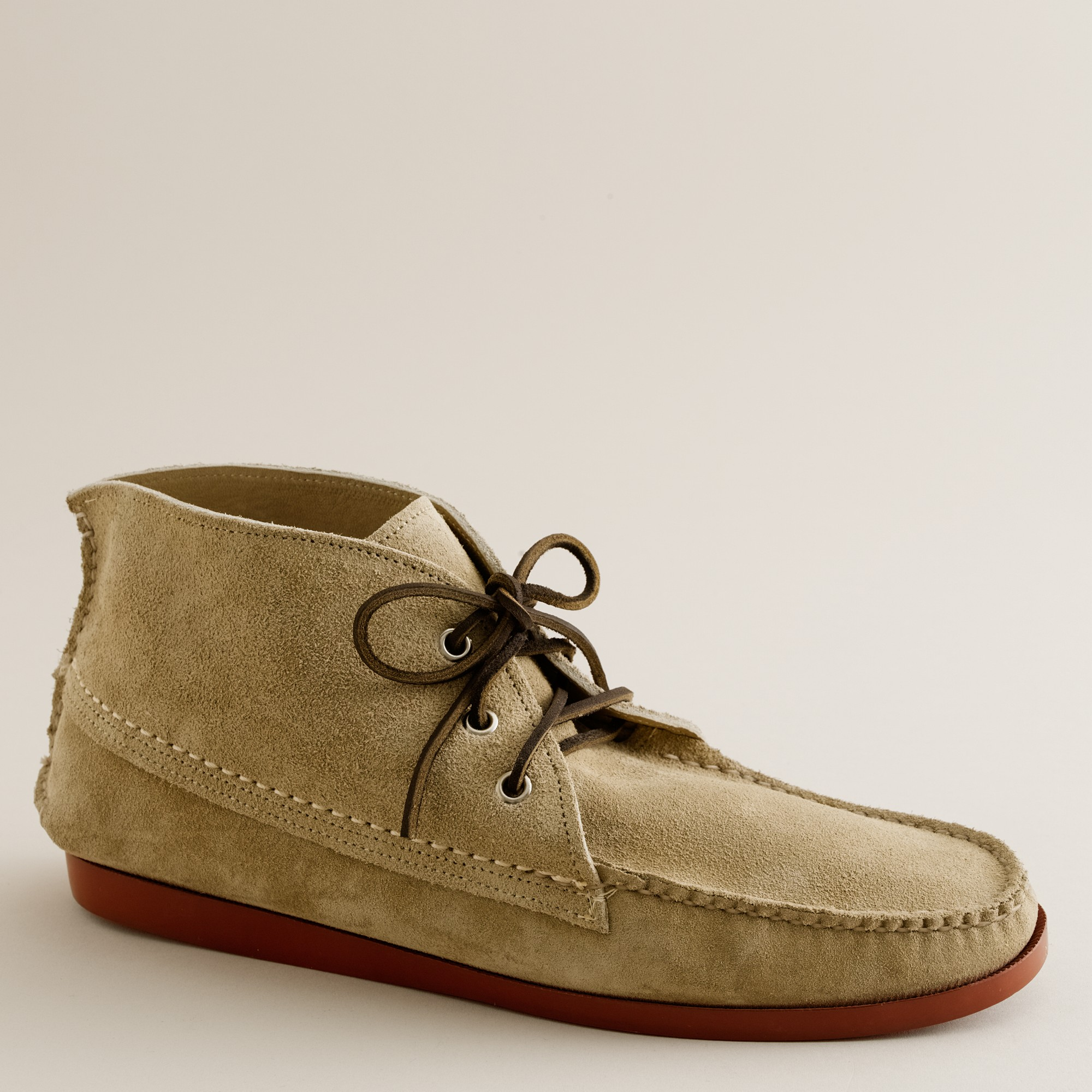 9b743f683b13eb Lyst - J.Crew Mens Quoddy® Suede Chukka Boots in Natural for Men
