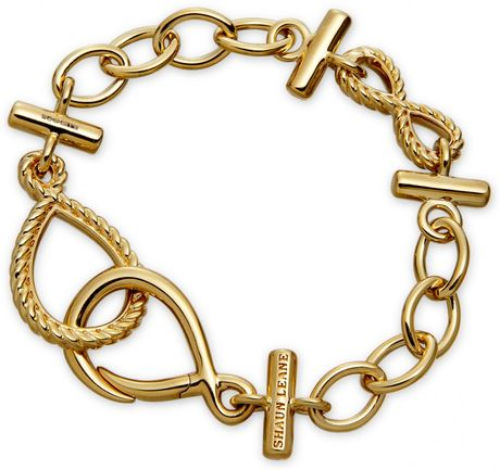 Shaun Leane Golden Gypsy Moth Bracelet in Yellow
