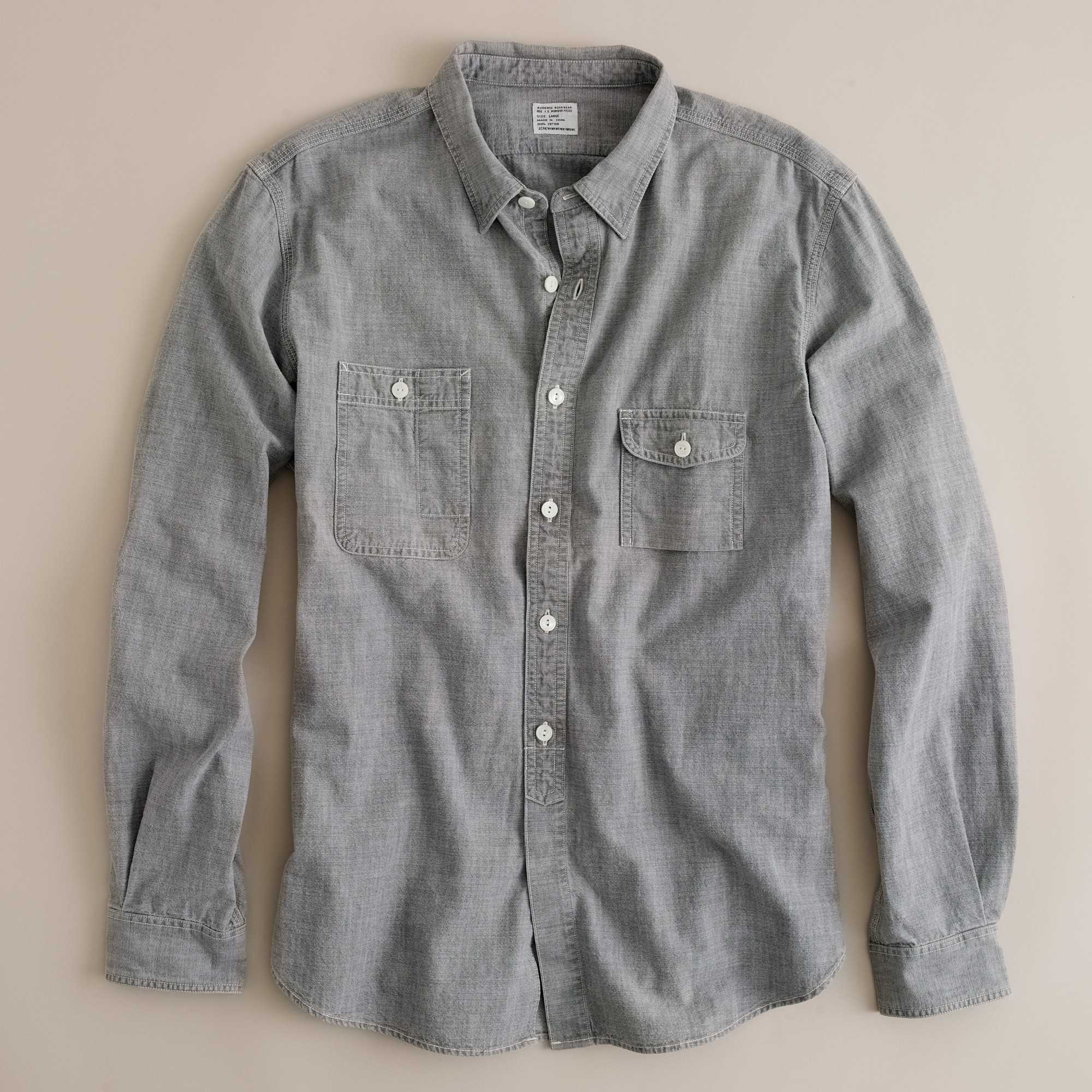 Chambray Shirts For Men