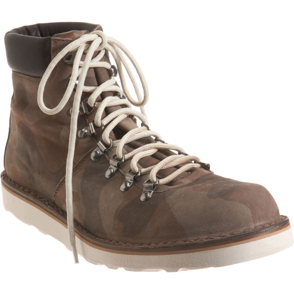 Lyst Barneys New York Camo Hiking Boot In Brown For Men