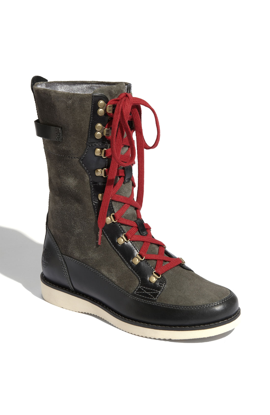timberland brattle boot in black black grey lyst
