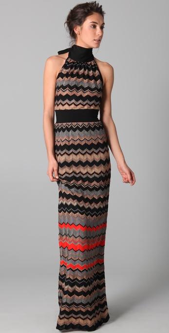 m missoni maxi dress short