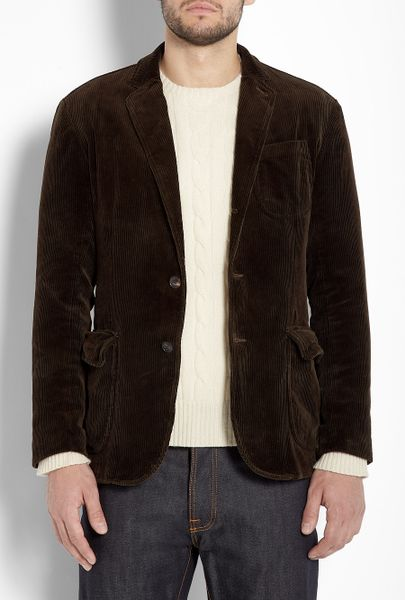 Polo Ralph Lauren Chocolate Washed Corduroy Patch Pocket