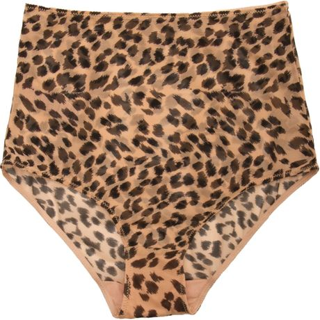 Stella Mccartney Marguerite Riding Leopard Brief in Animal (leopard)