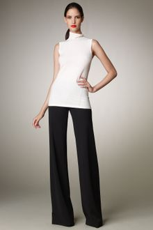 Donna Karan New York Wide-leg Pull-on Pants, Black - Lyst