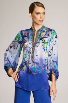 Etro Painterly Paisley Blouse - Lyst