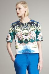 Stella McCartney Tropical-print Blouse
