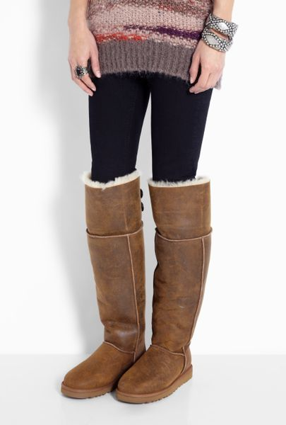 Ugg Womens Over The Knee Bailey Button Boots