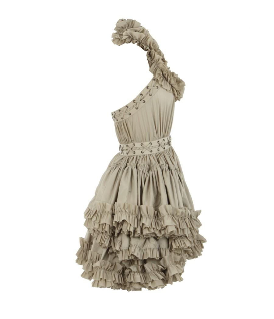 a608e894496 AllSaints Allegra Dress in Gray - Lyst