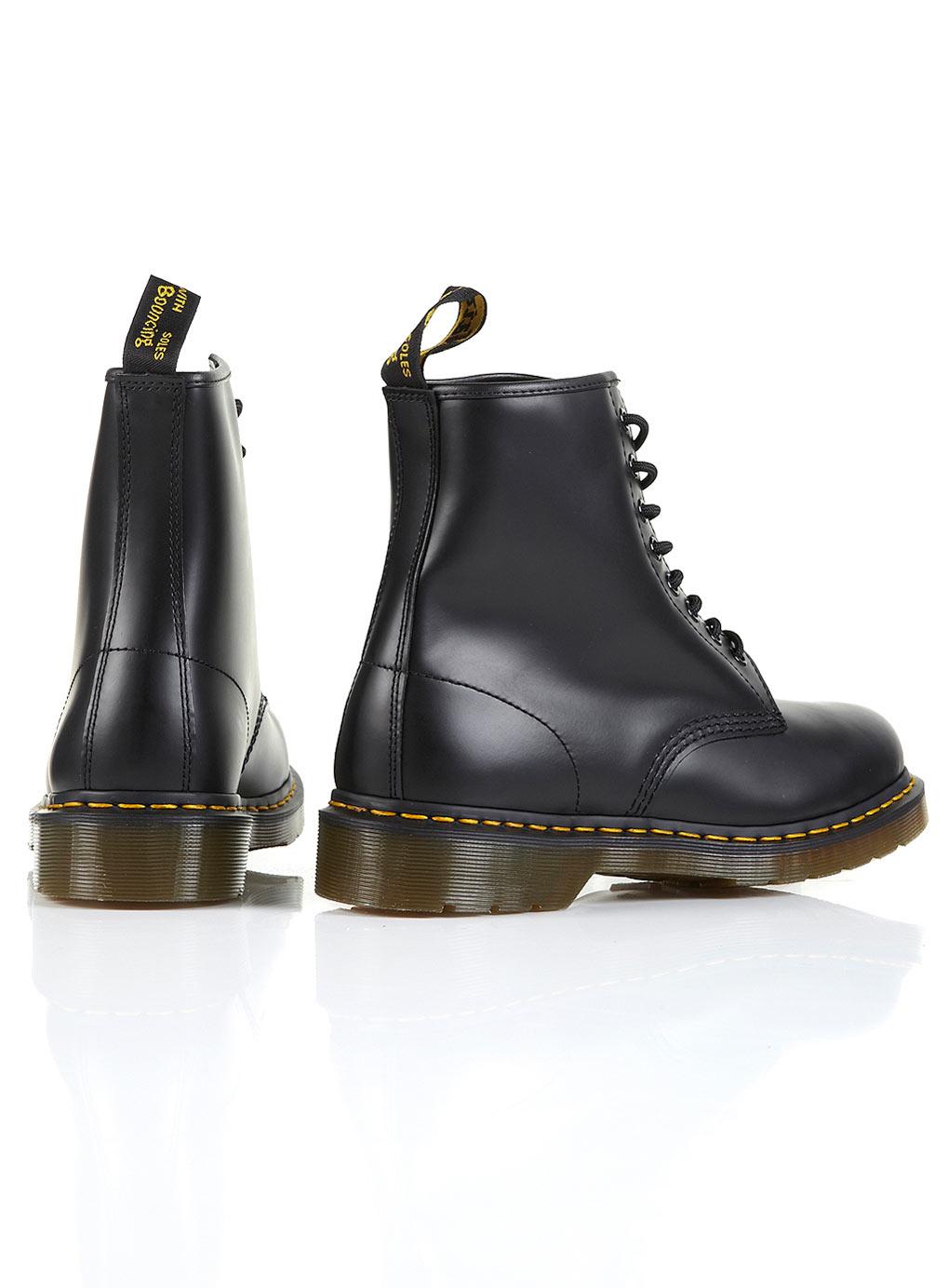 dr martens dr martens original 8 hole boots in black for men lyst. Black Bedroom Furniture Sets. Home Design Ideas