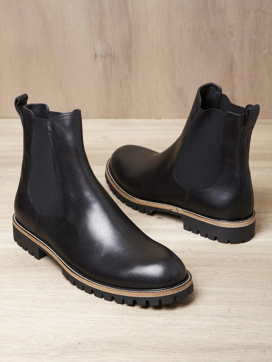 68a291c4f7 Dries Van Noten Dries Van Noten Mens Chelsea Boots in Black for Men ...