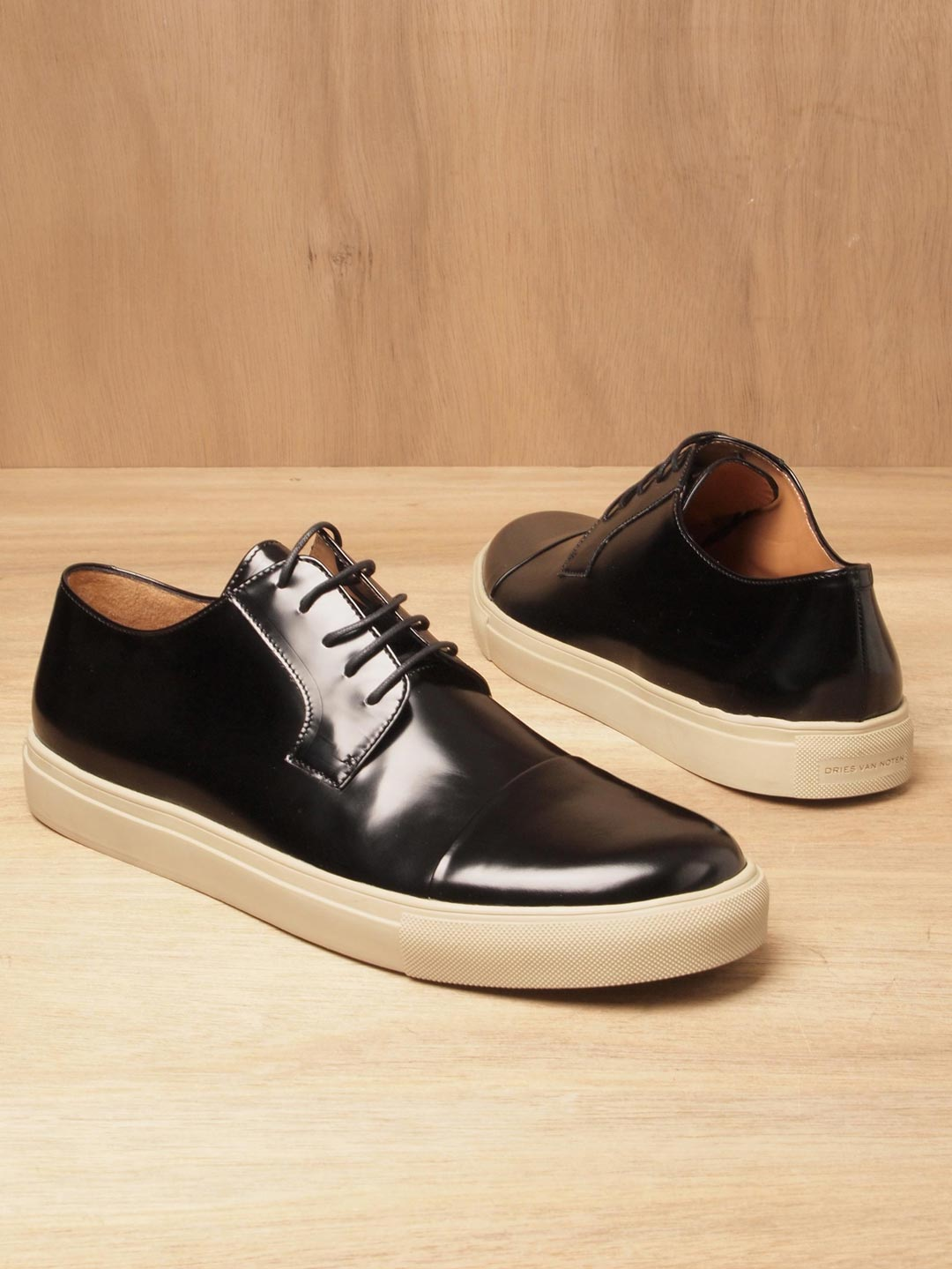 van leather shoes
