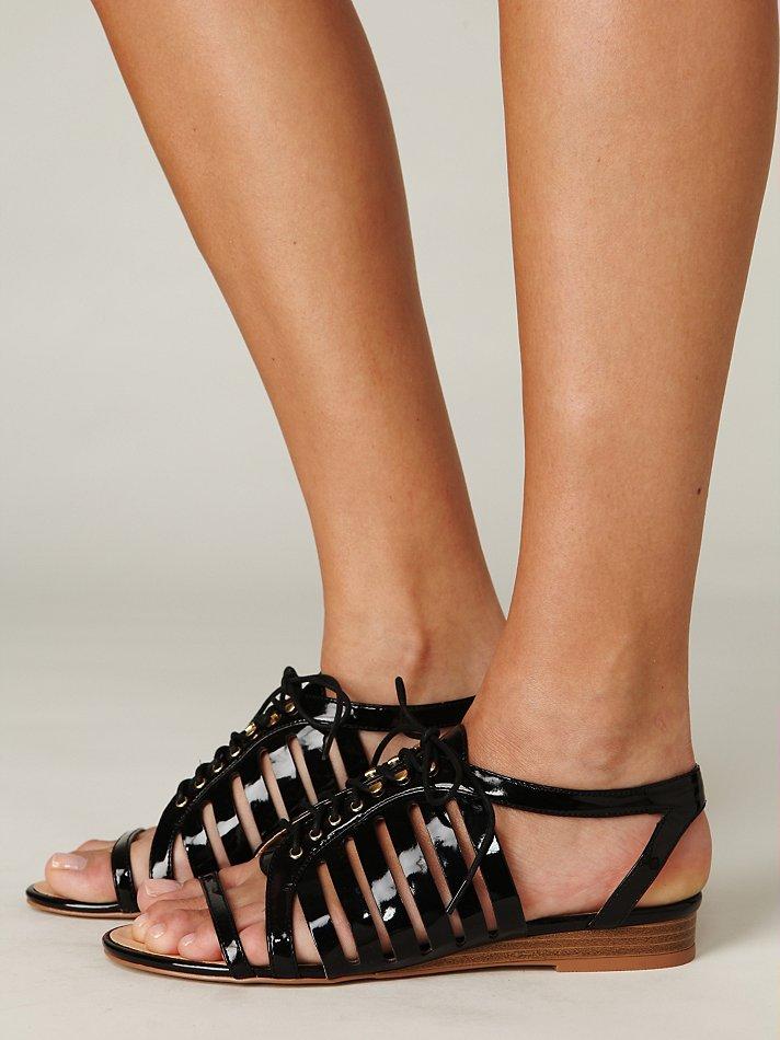 Free People Gladiator Sandal In Black Lyst