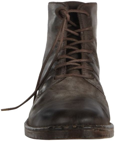 allsaints trap boot in brown for bitter choc lyst