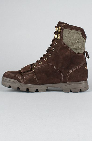 Creative Recreation The Dio Boots In Vintage Chocolate In