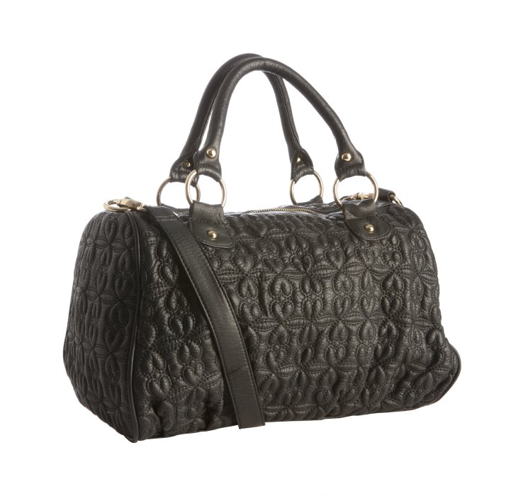 0d6ba63cab Dkny Black Quilted Crossbody Bag.DKNY Black Quilted Leather ...