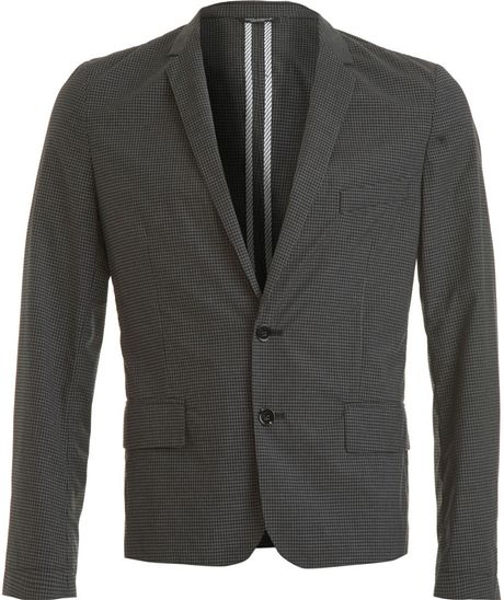 Dolce & Gabbana Gingham Sportcoat in Gray for Men (grey) - Lyst