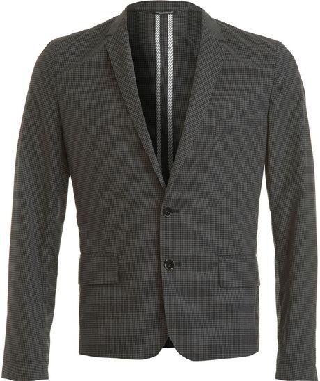 Dolce & Gabbana Gingham Sportcoat in Gray for Men (grey)