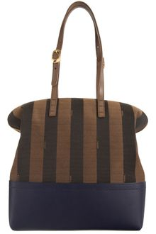 Fendi Pequin Stripe 2bag - Lyst