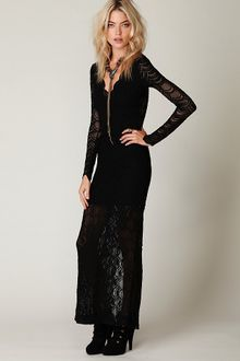 Free People Victorian Lace Maxi Dress - Lyst