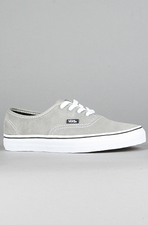1e7288d439 Lyst - Vans The Authentic Sneaker in Light Gray Suede in Gray
