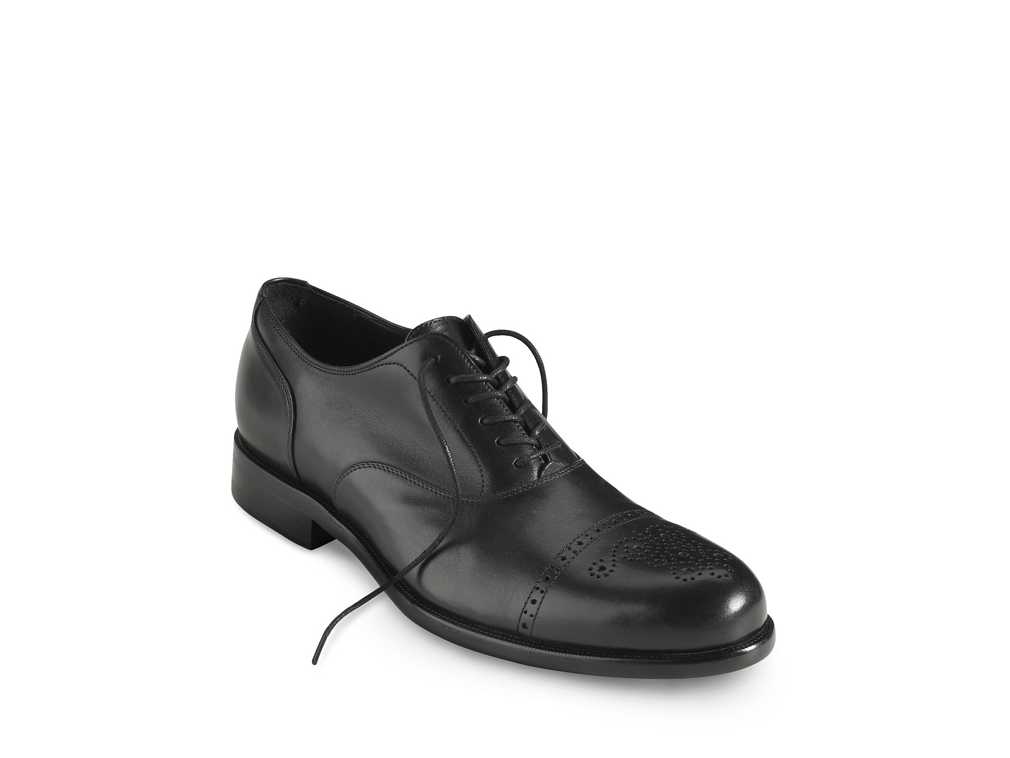 Cole Haan Nike Airu2122 Pitney Cap Toe Oxford Dress Shoe In Black For Men (black Calf) | Lyst