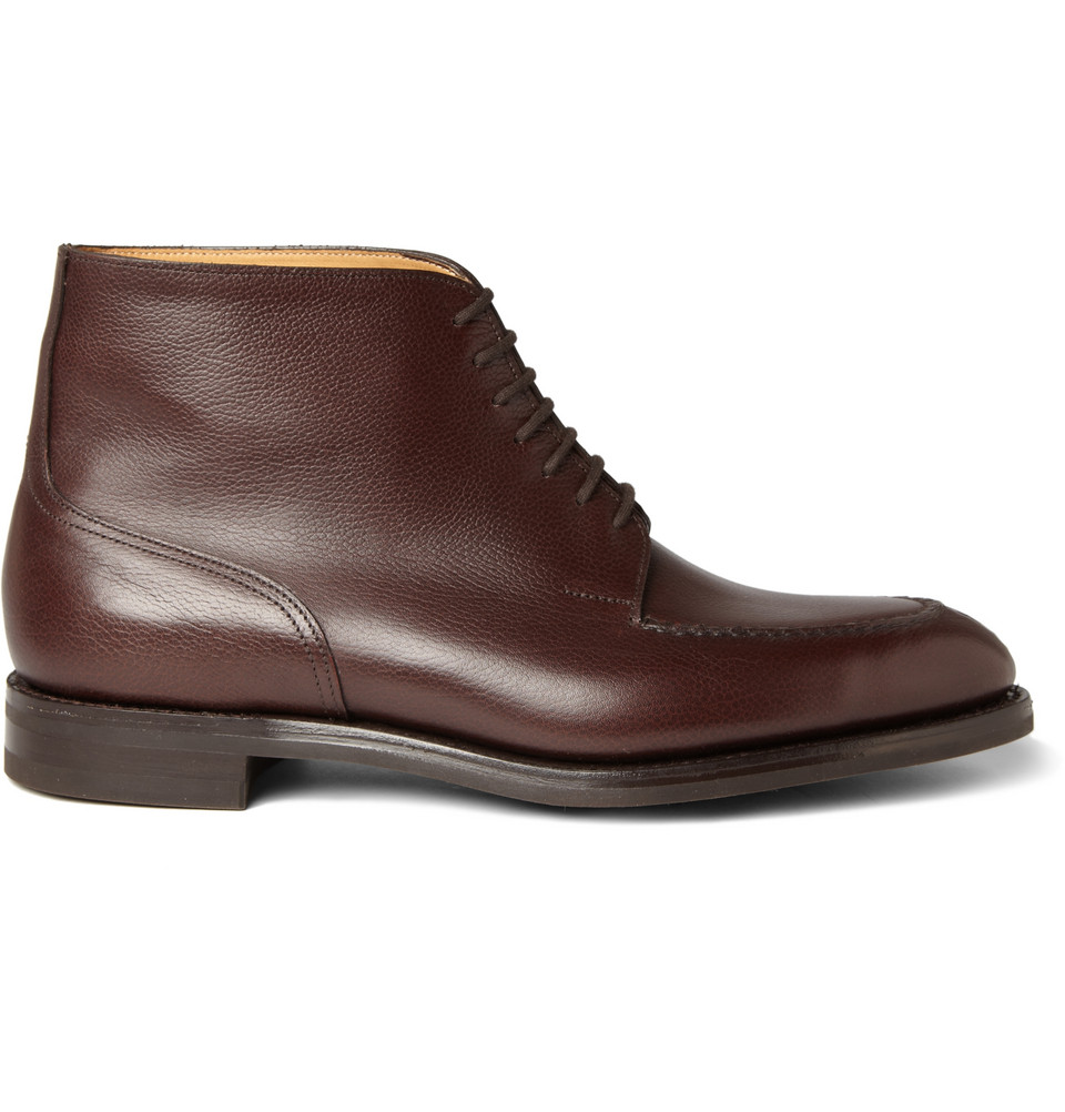 John Lobb Chambord Ii Leather Boots In Brown For Men Lyst