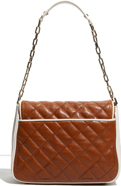 Tory Burch Quilted Cut Out Shoulder Bag 116