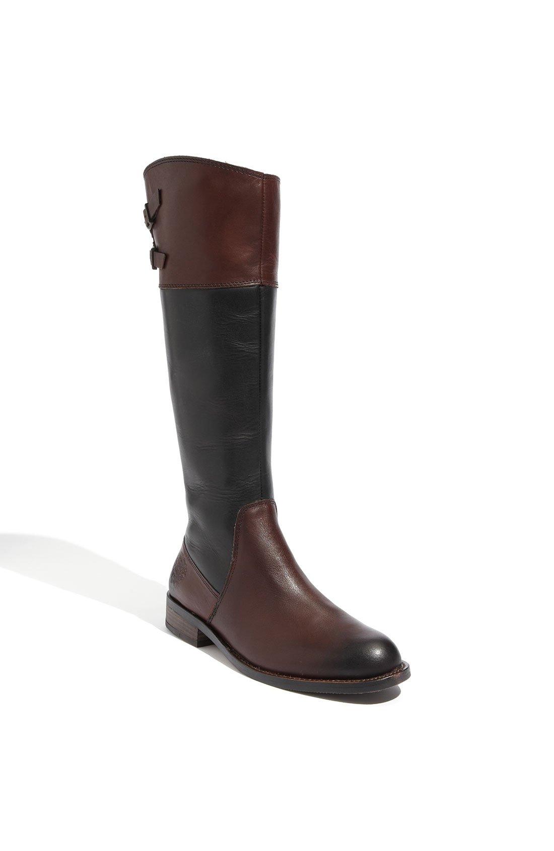 vince camuto keaton boot in brown black brown lyst