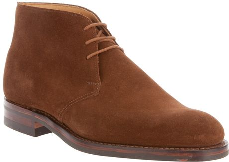 Crockett & Jones Chiltern Boot in Brown for Men - Lyst