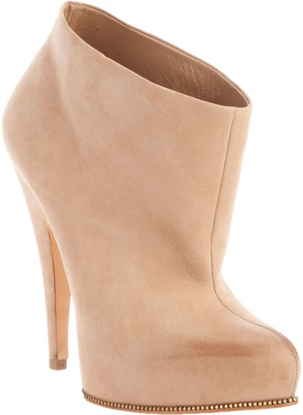 Givenchy Ankle Booties in Beige (nude)