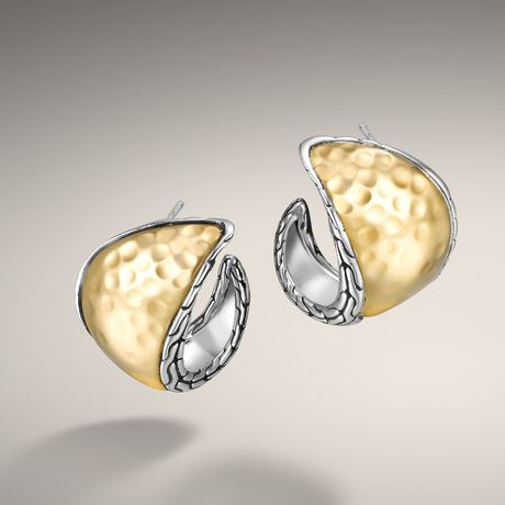 John Hardy Hoop Earrings in Gold (ez7019.jpg)