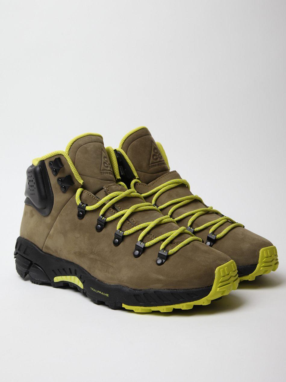 Original  1990s Vintage NIKE Women39s Athletic Light Hiking Boots EUR 43  US 11