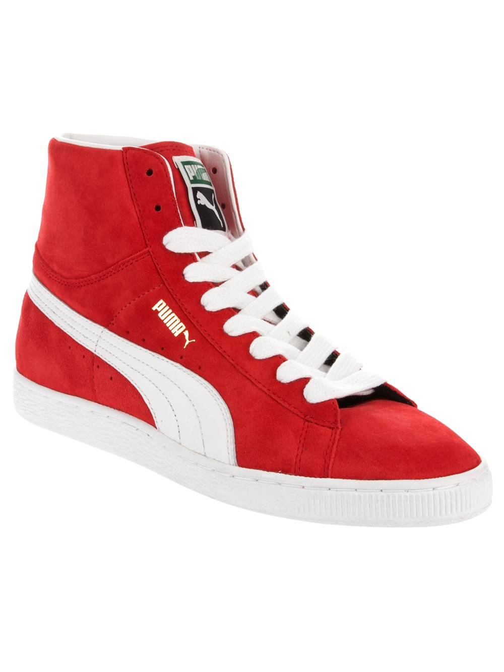 Puma Suede Mid Casual Shoes Women