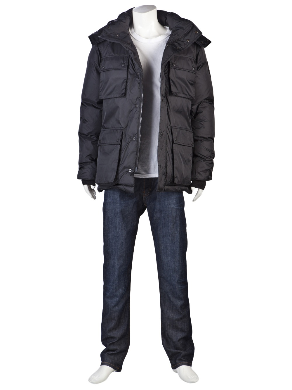 Canada Goose Manitoba Jacket In Gray For Men Graphite Lyst
